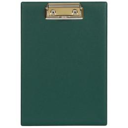 Планшет А5 с прижимным механизмом, 160х230, зеленый