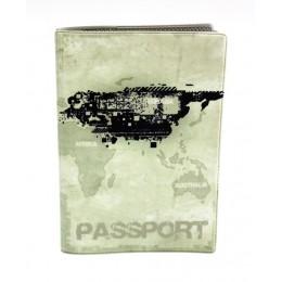 """Обложка для паспорта """"Твой стиль"""", """"Гранж"""", 188*134"""
