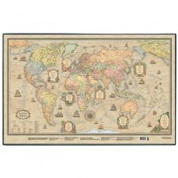"""Настольное покрытие """"Карта ретро"""", 380х590 мм"""