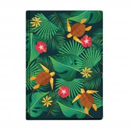 Бумажник для авто и паспорта, 100*132 мм, Черепахи с блёстками