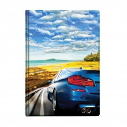 Бумажник для автодокументов, 95*132мм, Машина