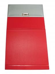 Папка-касса Азбука магнитная, красный