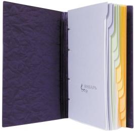 Ежедневник полудатированный 150х250 мм, фиолетовый