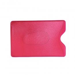 Карман для карт и пропусков, розовый