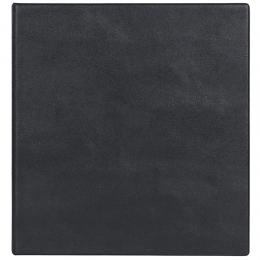 Визитница на 320 шт., кольцевой мех-м, черный