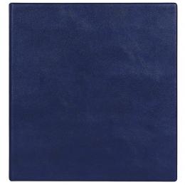 Визитница на 320 шт., кольцевой мех-м, синий