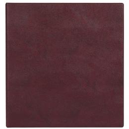 Визитница на 320 шт., кольцевой мех-м, бордовый