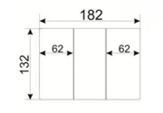 Обложка для паспорта (труд. кн. нов. обр.), прозрачн., 132*183