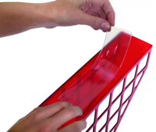 Самоклеящийся карман на корешок папки 35-50мм, в упак. 5 шт. 35*191
