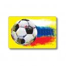 Карман для карт 64*96 мм, Футбол