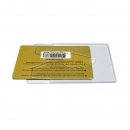 Карман для карт с окошком, 64х96, прозрачный
