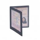 Обложка-рамка для документов водителя, 92*125 мм, синяя