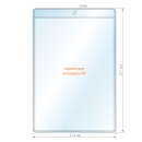 Ценникодержатель А4, 219х327 мм, прозрачный