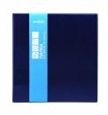 Папка для файлов, 4 кольца, синий 235*250