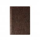 Бумажник классический с вкладышем А5, 95*132, коричневый кожзам