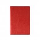 БУМАЖНИК КЛАССИЧЕСКИЙ С ВКЛАДЫШЕМ А5, 95*132, красный кожзам
