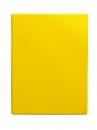 Тетрадь на кольцах А5, 140*250, клетка 80 листов, желтый