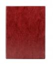 Тетрадь на кольцах А5, 140*250, клетка 80 листов, бордовый