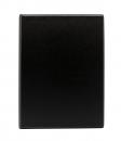 Тетрадь на кольцах А5, 140*250, клетка 80 листов, черный