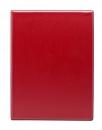 Тетрадь на кольцах А5, 140*250, клетка 80 листов, красный