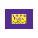 Коврик для лепки плотный ПВХ, 215*300, фиолетовый
