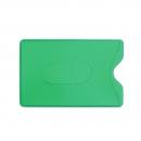 Карман для карт и пропусков, зеленый