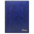 Папка «Меню» с 10 файлами 235х320, синий