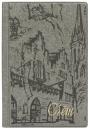 Папка «Счет» (125 х 190 х 10 мм), серый с городом
