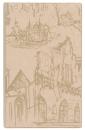 Телефонная книга с файлами для визиток (130х190 мм), бежевый с городом