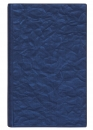 Телефонная книга с файлами для визиток (130х190 мм), синий