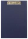 Планшет с прижимным механизмом, 225х320 мм, синий