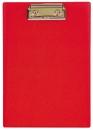 Планшет А5 с прижимным механизмом, 160х230, красный