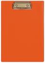 Планшет А5 с прижимным механизмом, 160х230, оранжевый