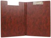 Клипборд 230х320, коричневый
