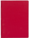 Блокнот А5 177х232, красный