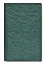БУМАЖНИК КЛАССИЧЕСКИЙ С ВКЛАДЫШЕМ А5, 95*132, зеленый шелк
