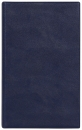 БУМАЖНИК КЛАССИЧЕСКИЙ С ВКЛАДЫШЕМ А5, 95*132, синий кожзам
