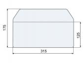 Конверт гориз., 175*315