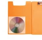 Самоклеящийся карман  для CD и DVD дисков, в упак.5 шт.,125*125 мм
