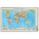Настольное покрытие «Карта мира» ,380 х 590 мм