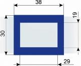 Курсор ДПС для блока шириной 320-360 мм, синий