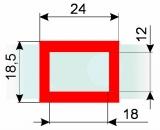 Курсор ДПС для блока шириной 230-260 мм, красный