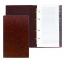 Алфавитная книга, 150х250 мм, коричневый