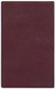 БУМАЖНИК КЛАССИЧЕСКИЙ С ВКЛАДЫШЕМ А5, 95*132, бордовый кожзам